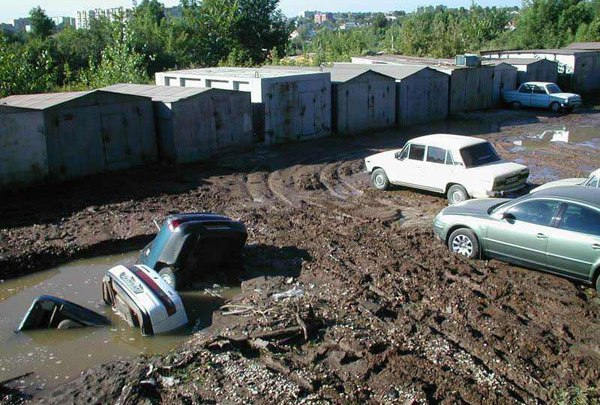 bad russian roads
