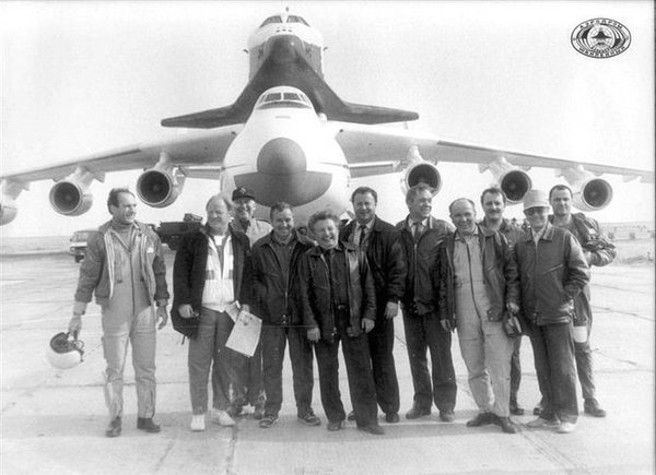 buran, the first russian shuttle space ship
