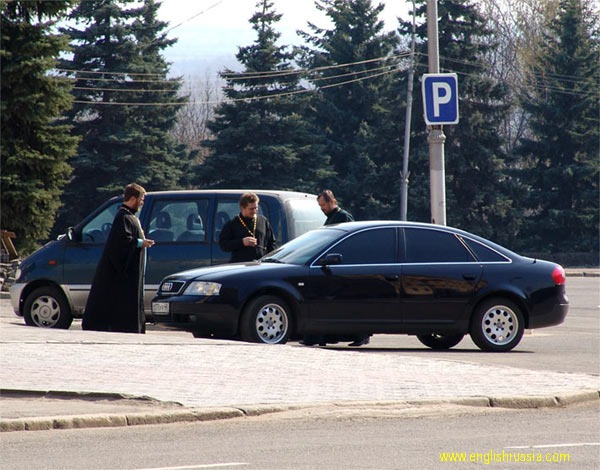 Russian Orthodox Church Priests live good