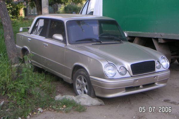 mercedes and lada in one