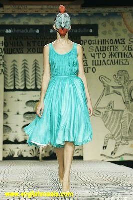 Moscow fashion week, some photos