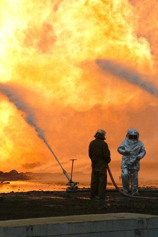 fire on the russian oil well part 11