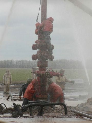 fire on the russian oil well part 13