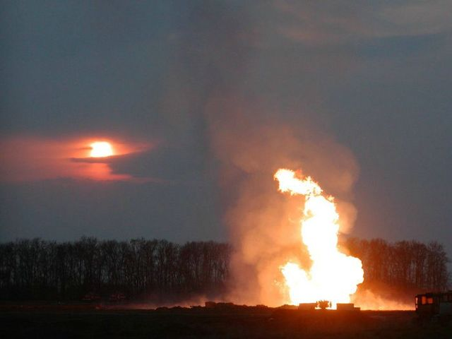 fire on the russian oil well part 14