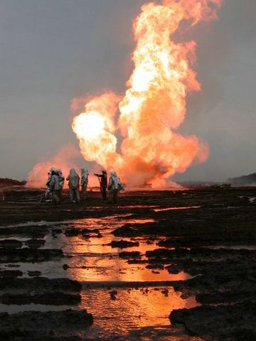 fire on the russian oil well part 15