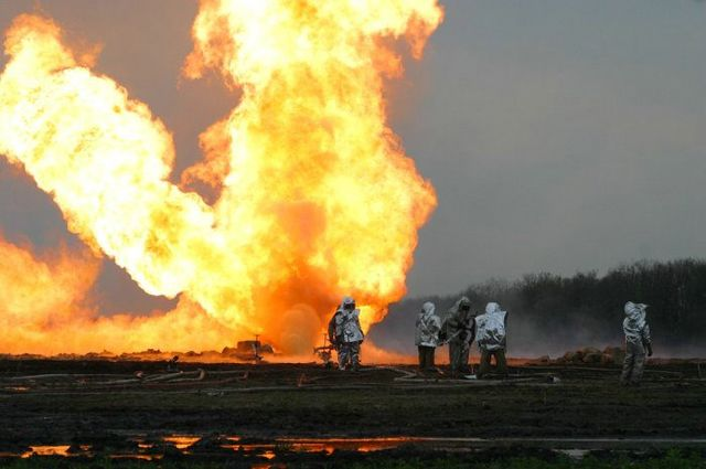 fire on the russian oil well part 17