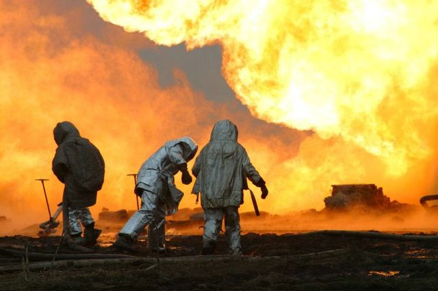 fire on the russian oil well part 19