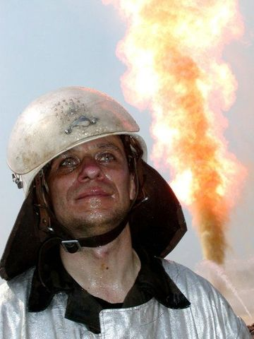 fire on the russian oil well part 2