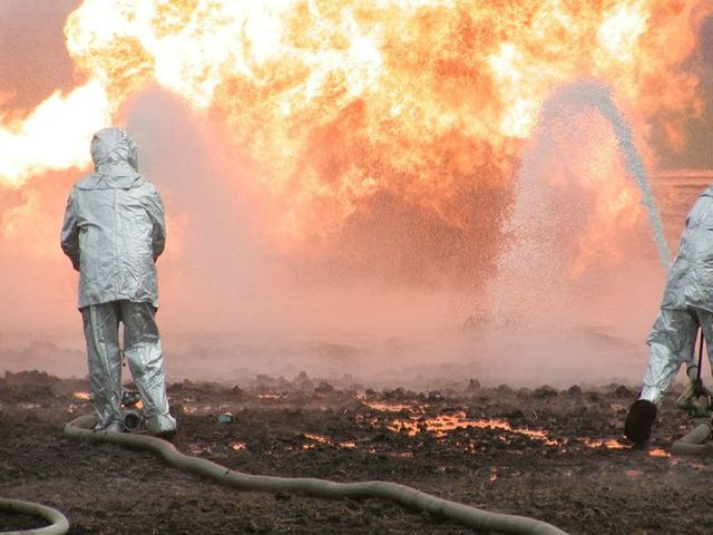 fire on the russian oil well part 3