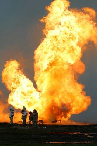 fire on the russian oil well part 8