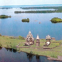 kizhi brilliant russian wooden architechture