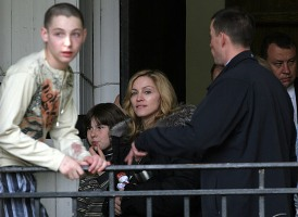 madonna in russia - casual photos