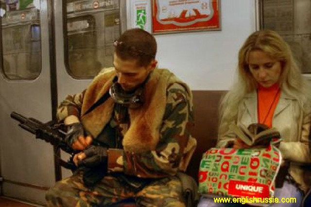 Photos made in Moscow subway