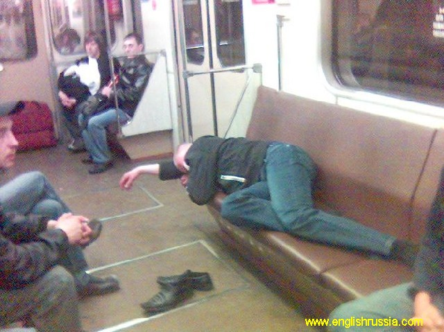 another vodka occasion in moscow city subway