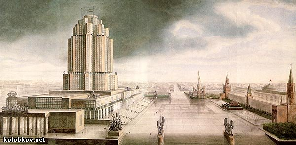 stalin plans about moscow city