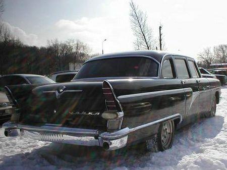 chaika was an elite car in russia