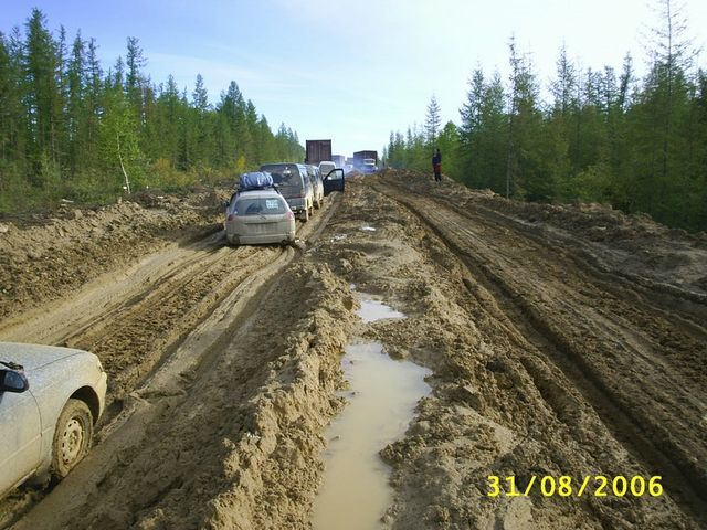 russian roads are bad